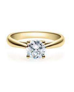 Verlobungsring  18002 gelbgold 0,70 ct