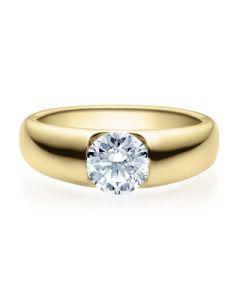Verlobungsring  18005 gelbgold 0,70 ct