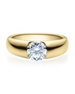 Verlobungsring  18005 gelbgold 1 ct