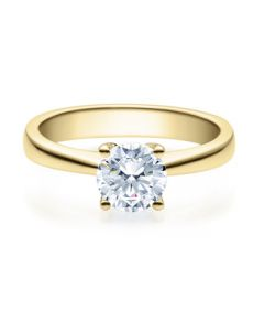 Verlobungsring  18008 gelbgold 0,70 ct