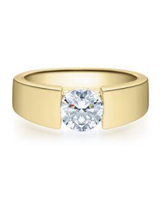 Verlobungsring  18012 gelbgold 1 ct